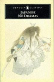 Cover of: Japanese nō dramas | Royall Tyler