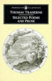 Cover of: Selected poems and prose | Thomas Traherne
