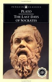 Cover of: The last days of Socrates by Plato