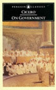 Cover of: On government | Cicero