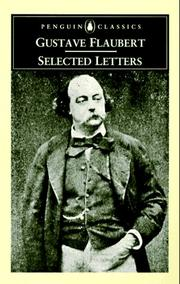 Cover of: Selected letters | Gustave Flaubert