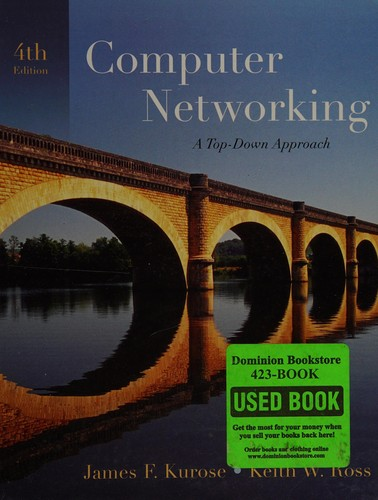 Computer networking by James F. Kurose