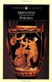 Cover of: Poetics (Penguin Classics) | Aristotle