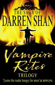 Cover of: Vampire Rites Trilogy