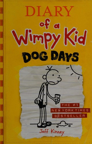 Diary of a wimpy kid 4 by Jeff Kinney