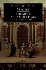 Cover of: The miser and other plays