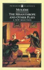 Cover of: The Misanthrope and Other Plays