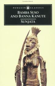 Cover of: Sunjata |