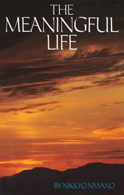Cover of: The meaningful life
