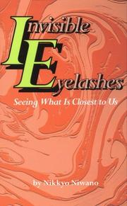 Cover of: Invisible eyelashes