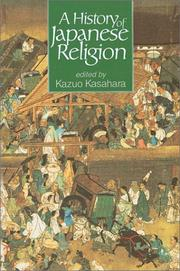 Cover of: A History of Japanese Religion |