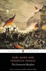 Cover of: The Communist manifesto | Karl Marx