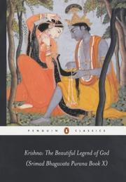 Cover of: Krishna: The Beautiful Legend of God | Anonymous