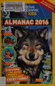 National Geographic Kids Almanac 2016, Canadian Edition