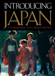Cover of: Introducing Japan | Donald Richie
