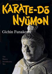 Cover of: Karate-do Nyumon