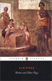 Cover of: Medea and other plays