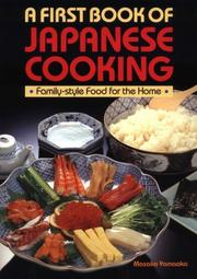 A First Book of Japanese Cooking by Masako Yamaoka