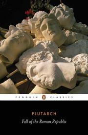 Cover of: The Fall of the Roman Republic | Plutarch, Robin Seager