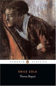 Cover of: Therese Raquin | Г‰mile Zola