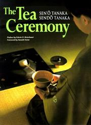 Cover of: The Tea Ceremony (Origami Classroom) | Seno Tanaka