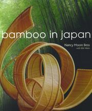Cover of: Bamboo in Japan | Nancy Moore Bess