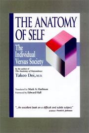 Cover of: The Anatomy of Self | Doi, Takeo