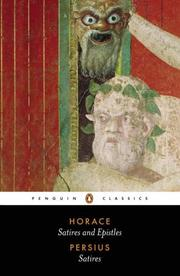 Cover of: The Satires of Horace and Persius (Penguin Classics) | Horace, Aulus Persius Flaccus