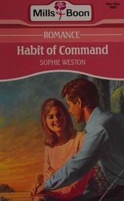 Habit of Command (Romance Series/Large Print)
