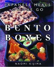 Cover of: Bento Boxes