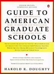 Cover of: Guide to American Graduate Schools | Harold R. Doughty