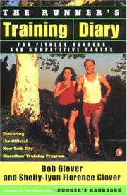 Cover of: The runner's training diary