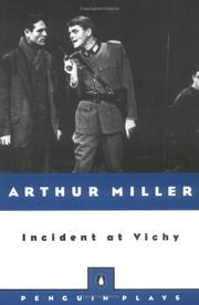 Cover of: Incident at Vichy: a play