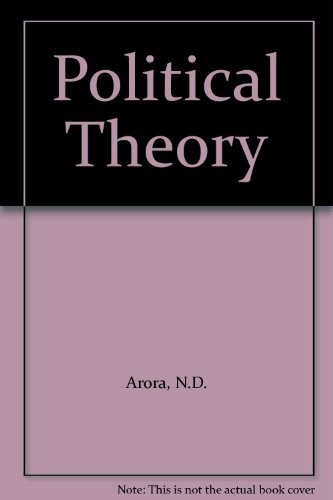 Political Theory by N.D. Arora, S.S. Aswasthy