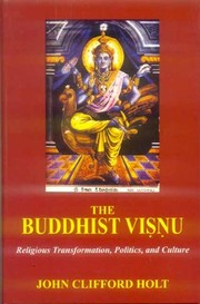 Cover of: The Buddhist Visnu | John Clifford Holt