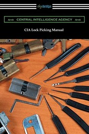 Cover of: CIA Lock Picking Manual