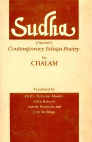 Cover of: Sudha (Nectar) Contemporary Telugu Poetry