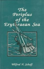 Cover of: Periplus of the Erythraen Sea