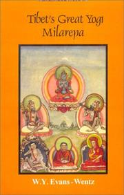 Cover of: Tibet's Great Yogi Milarepa
