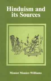 Cover of: Hinduism and its sources