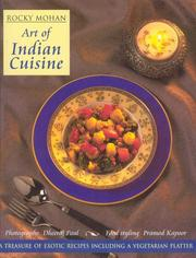 Cover of: Art of Indian cuisine