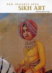 Cover of: New Insights into Sikh Art | Kavita Singh