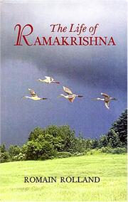 Vie de Ramakrishna by Romain Rolland