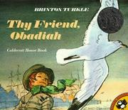 Cover of: Thy Friend, Obadiah