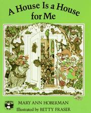Cover of: A House Is a House for Me