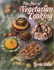 Cover of: The joys of vegetarian cooking