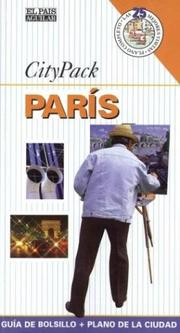 Cover of: Paris - City Pack