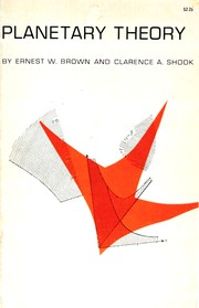 Cover of: Planetary theory by Ernest W. Brown