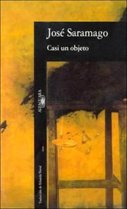 Cover of: Casi Un Objeto