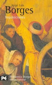 Cover of: Inquisiciones